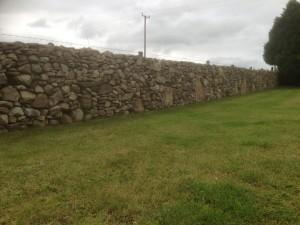 The Gardens Boyle Dry Stone wall Landscaping Stone masonry (9)