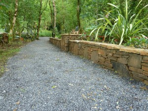 The Gardens Boyle Stone wall Landscaping Stone masonry (2)