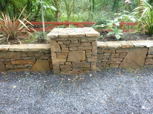 The Gardens Boyle Stone wall Landscaping Stone masonry (4)