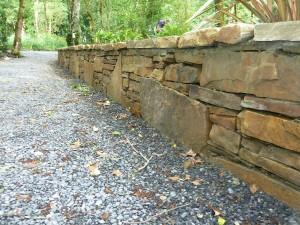The Gardens Boyle Stone wall Landscaping Stone masonry (5)