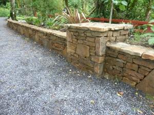 The Gardens Boyle Stone wall Landscaping Stone masonry (6)