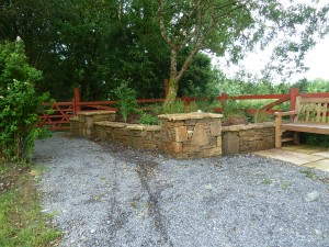 The Gardens Boyle Stone wall Landscaping Stone masonry (7)