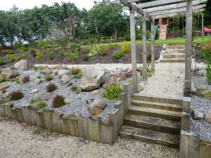 The gardens Landscaping rock garden alpine herbaceous planting (6)