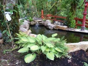 The gardens Landscaping rock pool water feature (12)